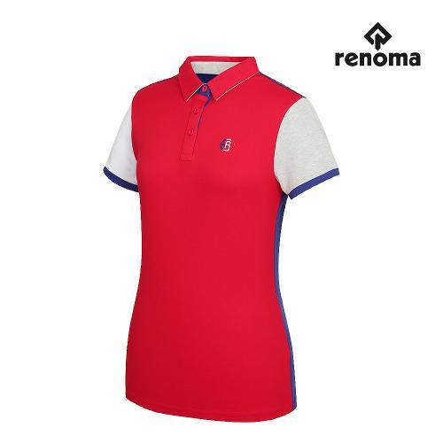 [레노마골프]여성 캐주얼 카라 반팔 티셔츠 RWTYG6110-500_G