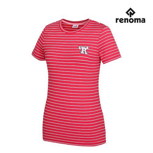[레노마골프]여성 스트라이프 반팔 티셔츠 RWTRG6126-500_G