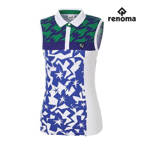 [레노마골프]여성 캐주얼 민소매 티셔츠 RWTSG6116-100_G