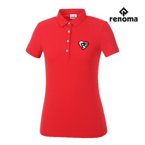 [레노마골프]여성 솔리드 카라 반팔 티셔츠 RWTSG6114-500_G