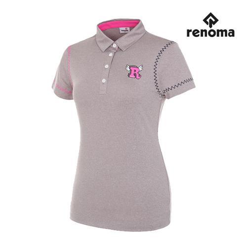 [레노마골프]여성 지그재그 반팔 티셔츠 RWTYG6104-193_G