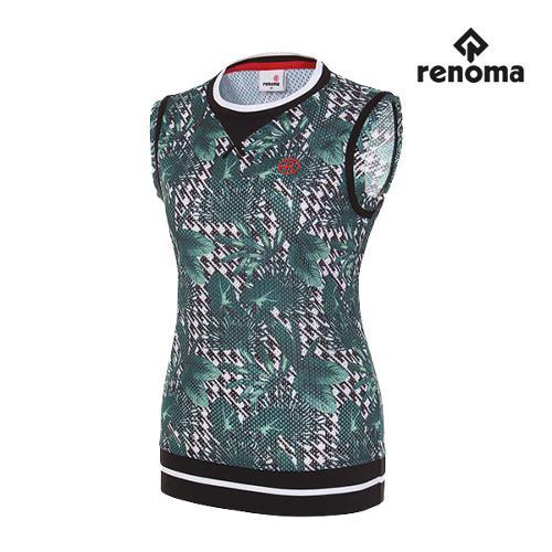 [레노마골프]여성 트로피컬 베스트 티셔츠 RWTSG6138-131_G