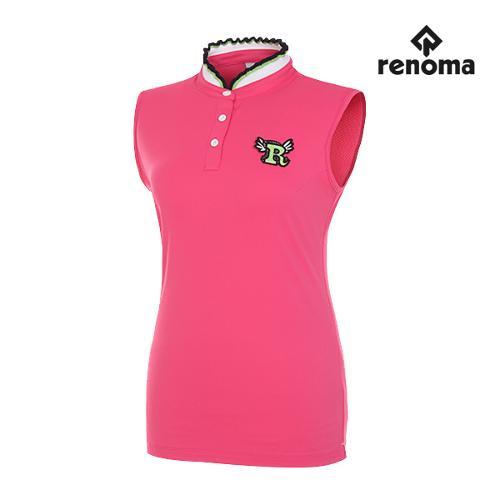 [레노마골프]여성 프릴 카라 민소매 티셔츠 RWTSG6118-403_G