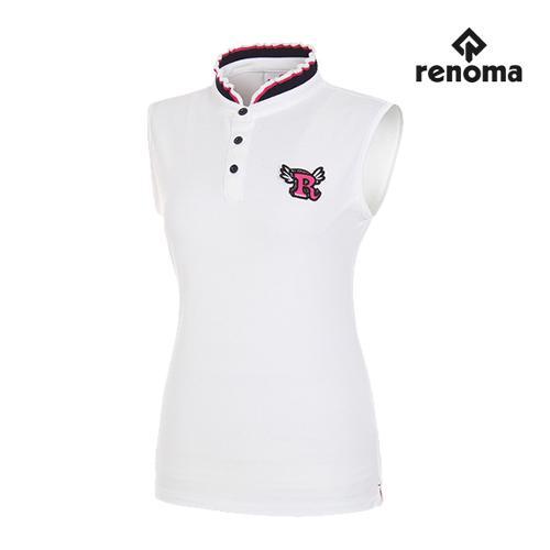 [레노마골프]여성 프릴 카라 민소매 티셔츠 RWTSG6118-100_G
