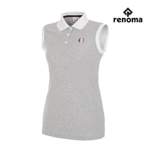 [레노마골프]여성 스타일 배색 민소매 티셔츠 RWTSG6109-193_G