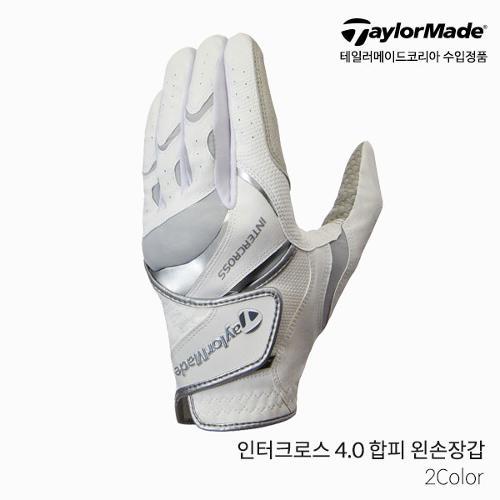테일러메이드 인터크로스 4.0 [INTERCROSS 4.0 GLOVE] 합피 골프장갑 왼손 남성 2021년
