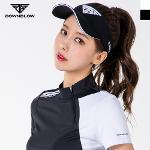 다운블로우 여성 로고포인트 골프 썬캡/모자 7002-1W