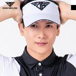 다운블로우 남성 로고포인트 골프 썬캡/모자 7002M