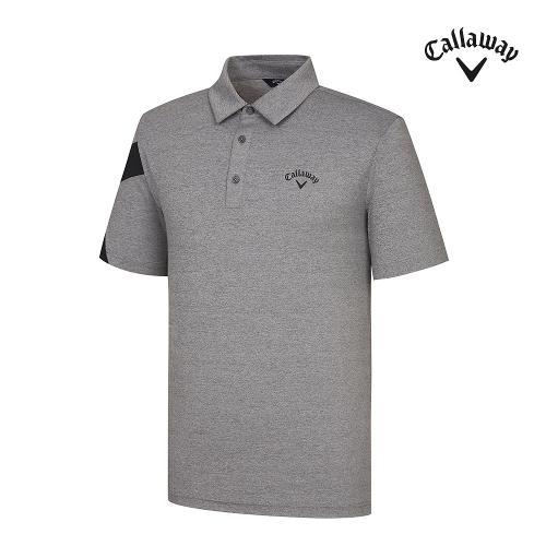 [캘러웨이]기획 남성 소매 포인트 카라 반팔 티셔츠 CMTYJ2451-193_G