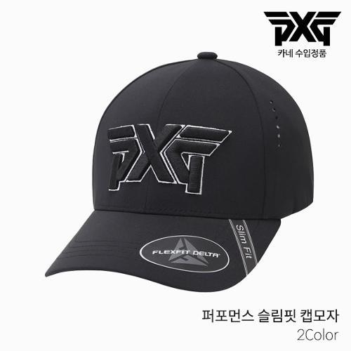 [카네 정품] PXG PERFORMANCE CAP-S PIT 퍼포먼스 캡 골프모자 2021년