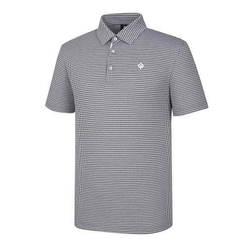 [레노마골프]21SS 남성 잔체크 카라 반팔 티셔츠 RMTYK2180-190_G