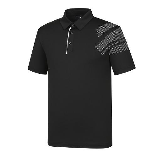 [레노마골프]21SS 남성 소매 포인트 카라 반팔 티셔츠 RMTYK2176-199_G