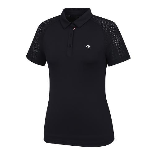 [레노마골프]21SS 여성 소매 펀칭 카라 반팔 티셔츠 RWTYK6160-925_G
