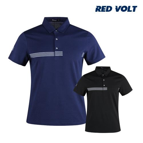 레드볼트 남성 반팔 쿨 아이스 골프카라셔츠 RM1M418