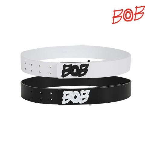 BOB 여성용 로고 가죽벨트 - GBD2BM510