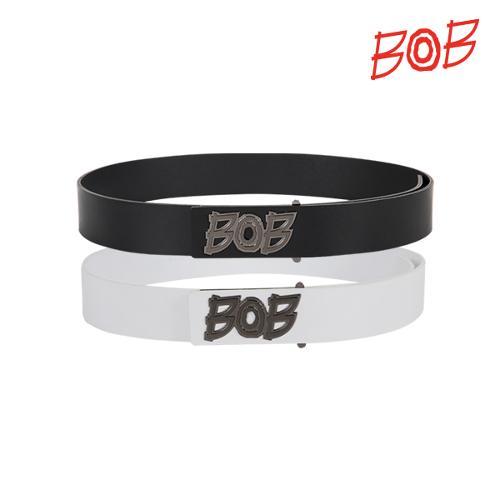BOB 남성 로고버클 가죽벨트 - GBD1BM010