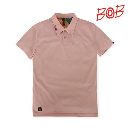 BOB 남성 반팔 카라 티셔츠 - GBM1TS050_PI