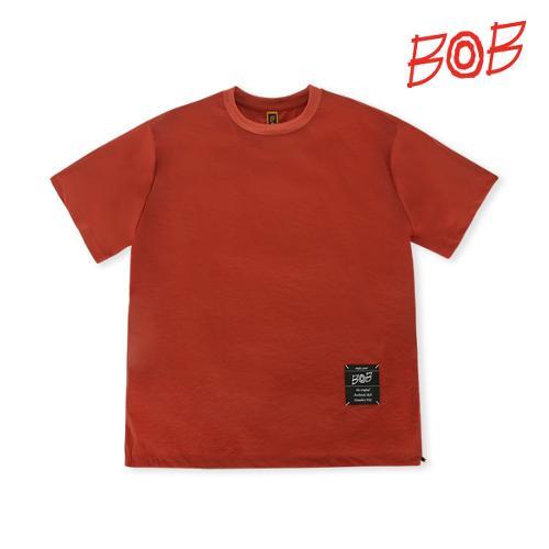 BOB 남성 우븐배색 반팔 골프티셔츠 - GBM1TR010_OR