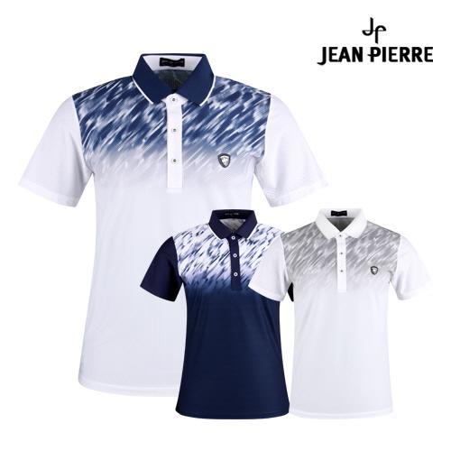 잔피엘 남성 쿨 아이스 골프 카라셔츠 JP1M413