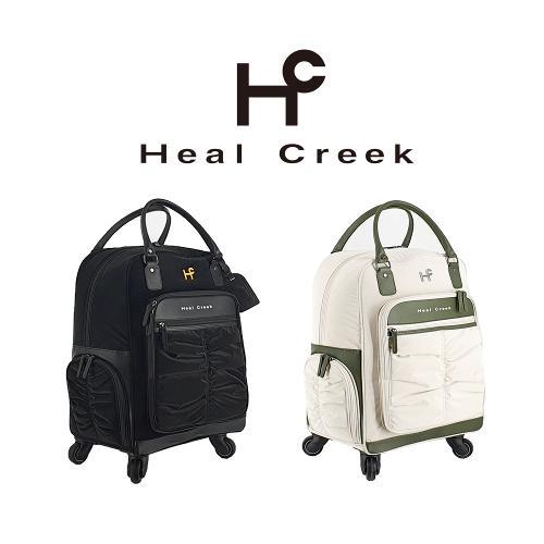 힐크릭 HCBB-B02 친환경 초경량 보스턴백 바퀴형 2color 휠보스턴백