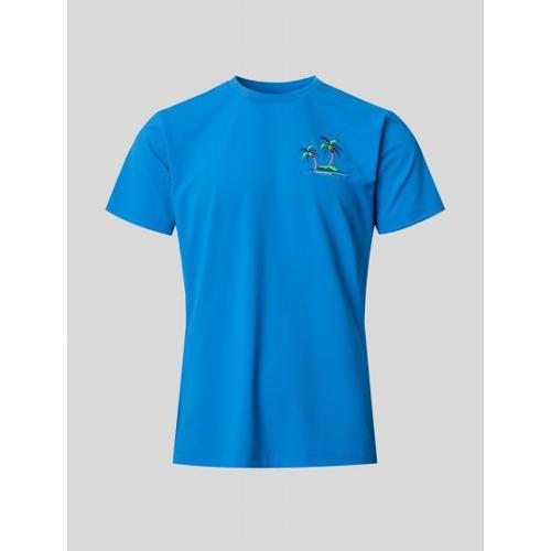 [빈폴골프] 남성 블루 나난 원포인트 티셔츠 (BJ1542B13P)