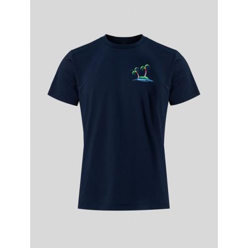 [빈폴골프] 남성 네이비 나난 원포인트 티셔츠 (BJ1542B13R)