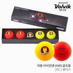 볼빅 마블 아이언맨 VIVID 3피스 골프공 골프볼 2021년