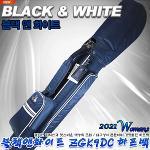 [블랙앤화이트] BLACK & WHITE ZGKMC2 하프백 (여성)[네이비]