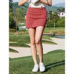 [빈폴골프] 여성 레드 올오버 패턴 큐롯 (BJ1626A016)
