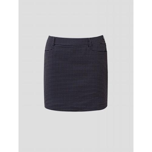 [빈폴골프] 여성 네이비 올오버 패턴 큐롯 (BJ1626A01R)