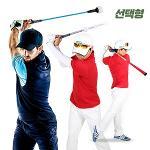 [카시야] 비거리향상 자세교정 골프스윙연습기 3종 선택형