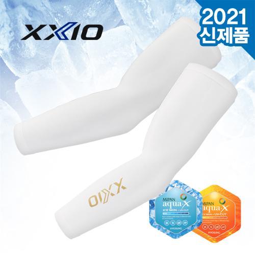 [2021년신상품]젝시오 GAP-21005I 효성AQUA-X 냉감원단 UV차단 프리사이즈 팔토시
