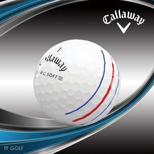 캘러웨이골프 ERC 소프트 21 트리플트랙 골프공 3피스 골프볼