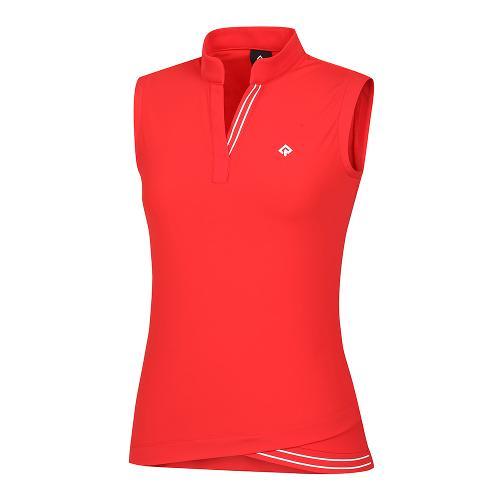 [레노마골프]21SS 여성 V넥 변형넥 민소매 티셔츠 RWTSK6117-500_G
