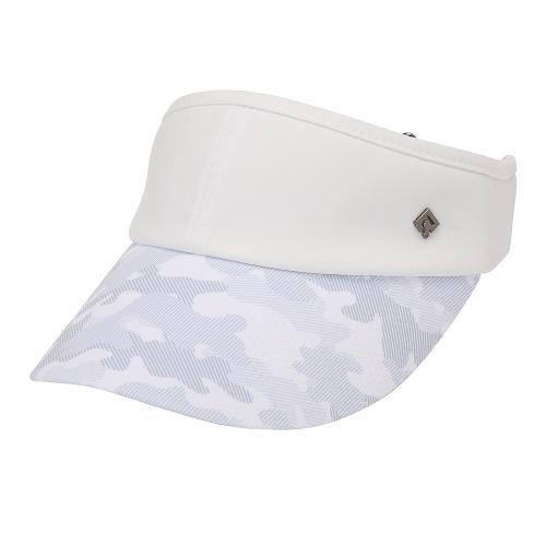[레노마골프]21SS 여성 카모 배색 썬바이저 모자 RWACK6807-101_G