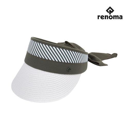 [레노마골프]여성 자연초 리본 썬캡 모자 RWACJ6815-816_G