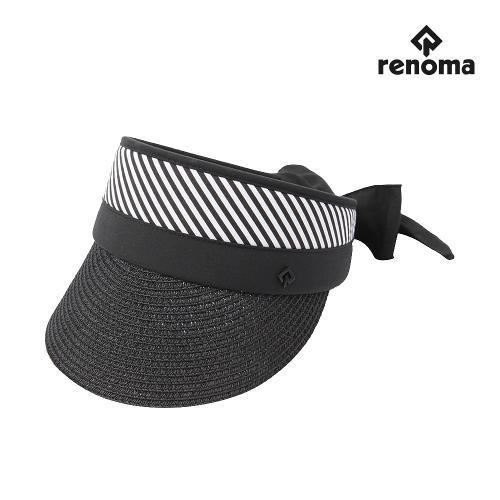 [레노마골프]여성 자연초 리본 썬캡 모자 RWACJ6815-199_G