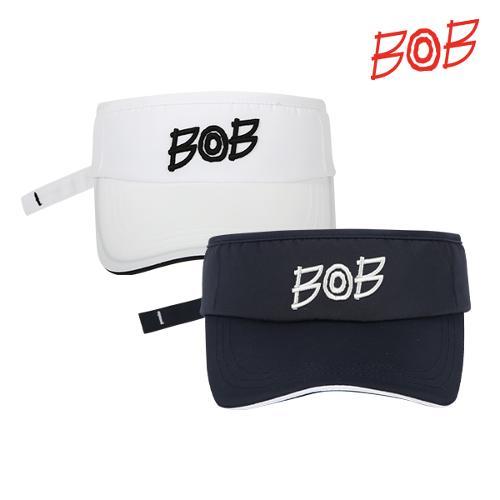 BOB 남여공용 트윌소재 로고포인트 썬캡 - GBM3CP010