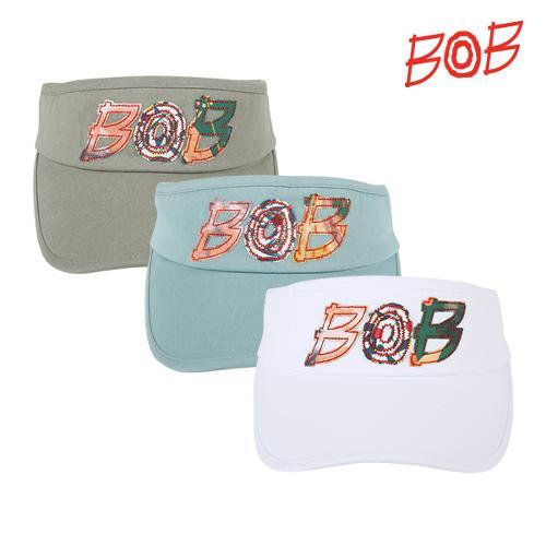 BOB 여성 로고포인트 골프 썬캡 - GBM2CP510