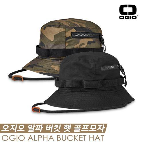 [오지오 정품] 오지오 알파 버킷 햇(ALPHA BUCKET HAT) 골프모자 [2COLORS][남성용]