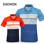 [DAEWON] 대원 컬러 반팔 여름 면 카라티셔츠 Model No_I2-0W132
