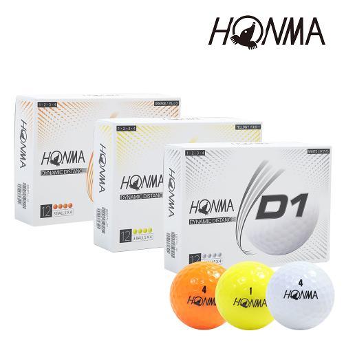 혼마 D1 골프볼 2021 model [2피스]