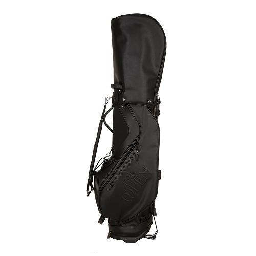 [THE OPEN X renoma] 남성 가죽 패치 캐디백 RMADK9891-199_G