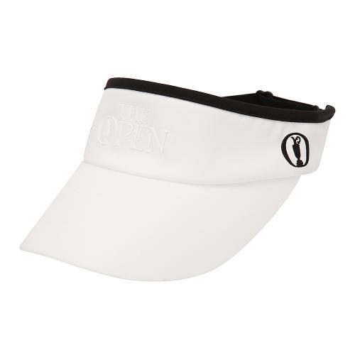 [THE OPEN X renoma] 여성 로고 포인트 썬캡 모자 RWACK9897-101_G