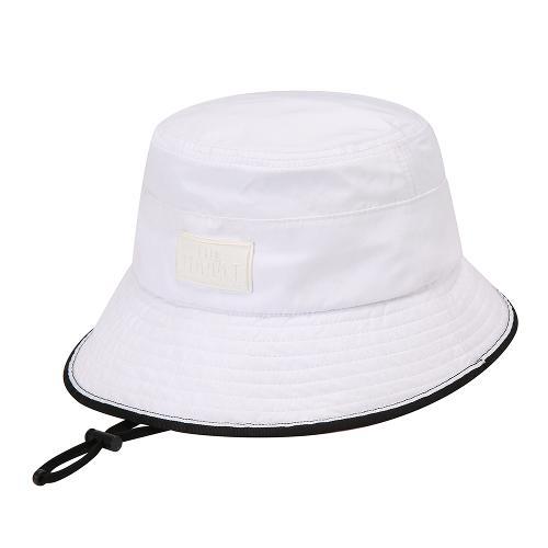 [THE OPEN X renoma] 여성 라인 배색 챙모자 RWACK9896-101_G