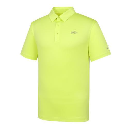 [THE OPEN X renoma] 남성 등판 로고JQD 카라 반팔 티셔츠 RMTYK2194-211_G