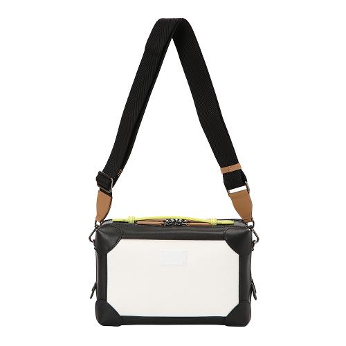 [THE OPEN X renoma] 여성 배색 사각 크로스백 RWABK9896-199G