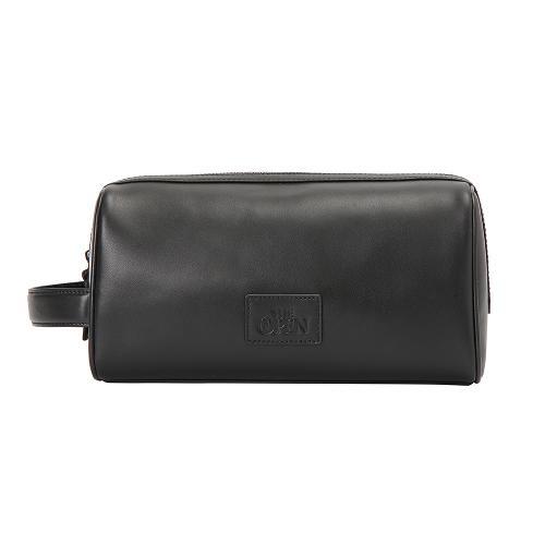 [THE OPEN X renoma] 남성 가죽 패치 파우치 가방 RMABK9893-199_G