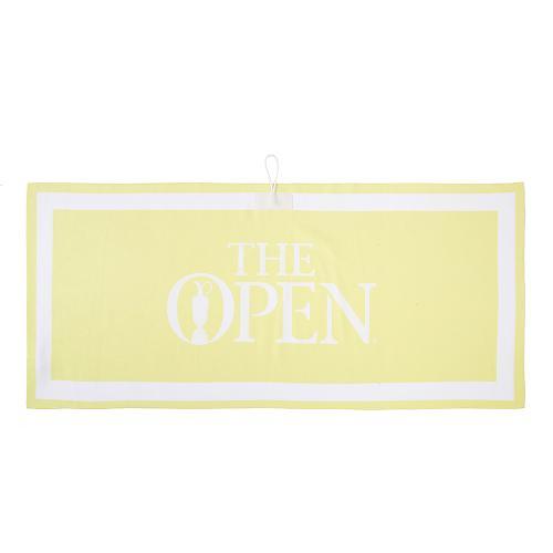 [THE OPEN X renoma] 공용 빅로고 골프 타월 RUAEK9896-211_G