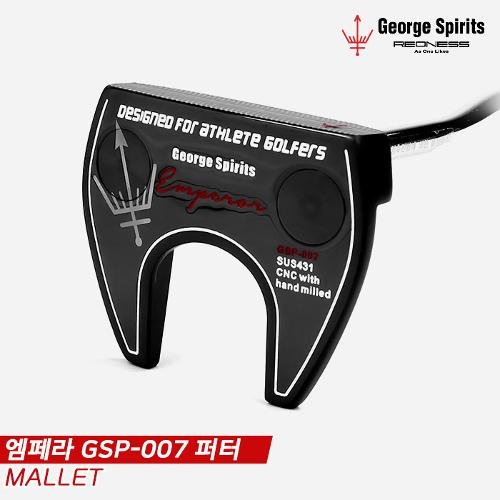 [조지스피리츠코리아정품]2021 조지스피리츠 엠페라(EMPEROR) GSP-007 퍼터[남여공용/말렛형]